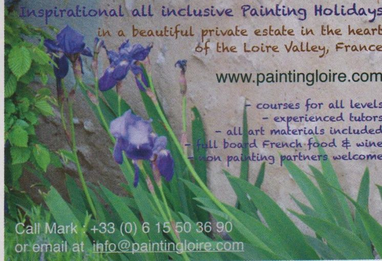 Painting Holidays in the Loire Valley France
